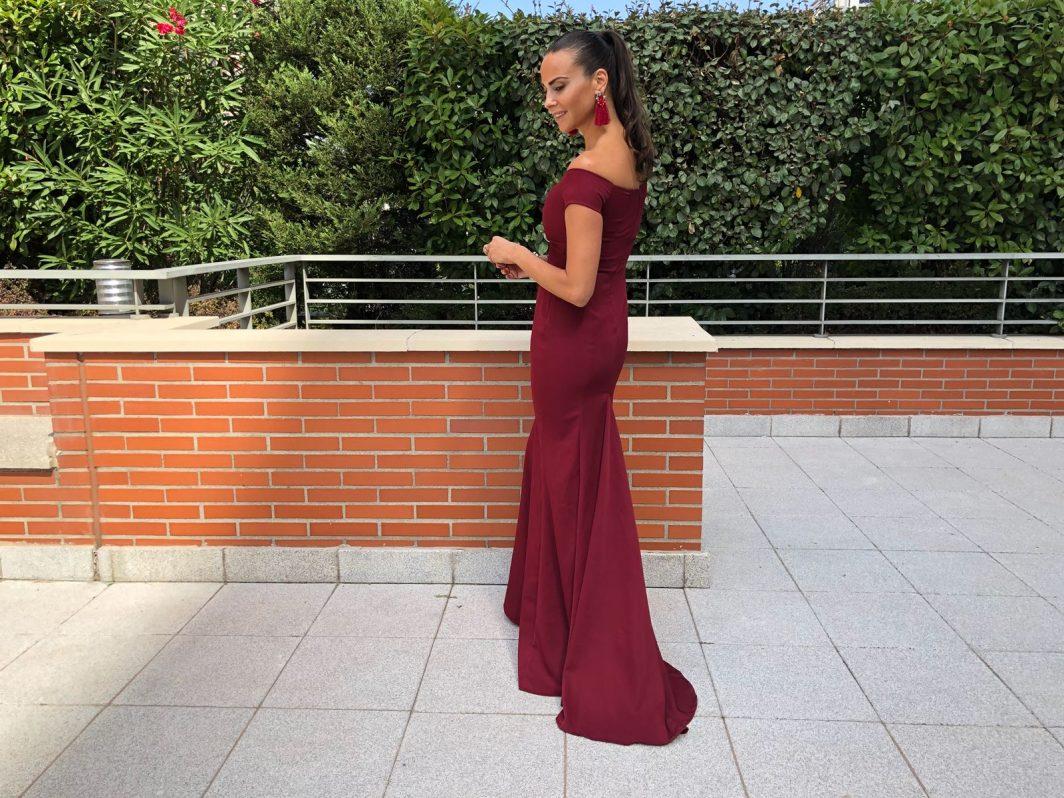Vestido lady long