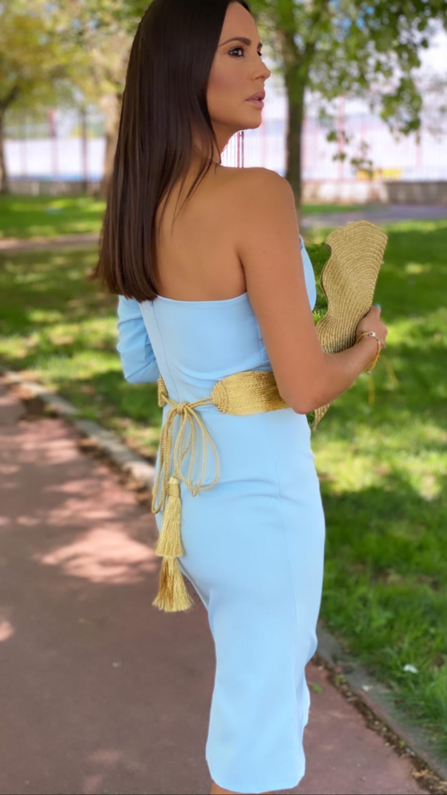 Vestido cleopatra midi