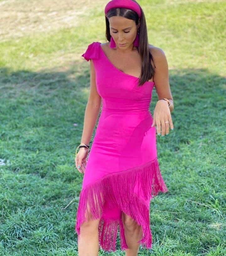 Vestido ecuador flecos